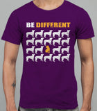 Be Different Shar Pei Dog  Mens T-Shirt - Purple