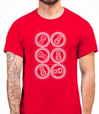 Six Pack Mens T-Shirt - Red