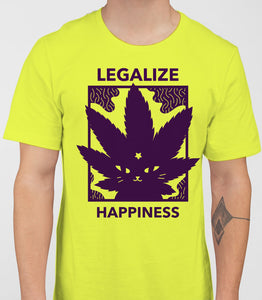 Legalize Happiness - T-Shirt - Pistachio