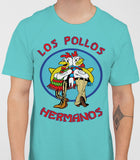 Los Pollos Hermanos - Breaking Bad Mens T-Shirt - Sky Blue