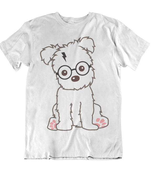 Dog Harry Potter Theme T-Shirt