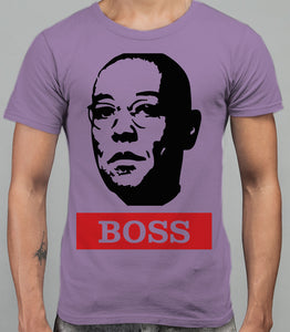 Guss Fringe The Boss - Breaking Bad Mens T-Shirt - White