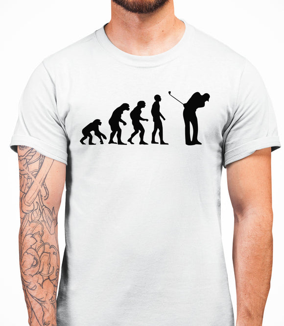 Evolution Golf Mens T-Shirt - White
