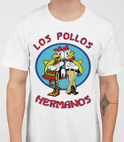 Los Pollos Hermanos - Breaking Bad Mens T-Shirt - White