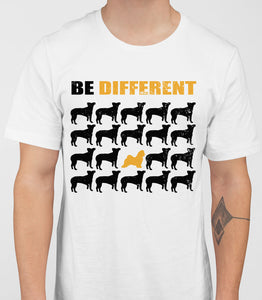 Be Different Maltese Dog  Mens T-Shirt - White