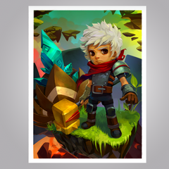 Bastion 'In Case of Trouble' Print