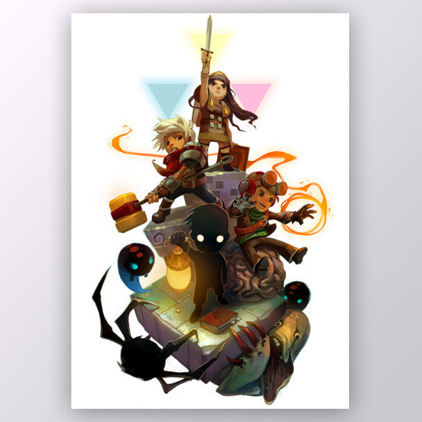 Humble Indie Bundle Art Print