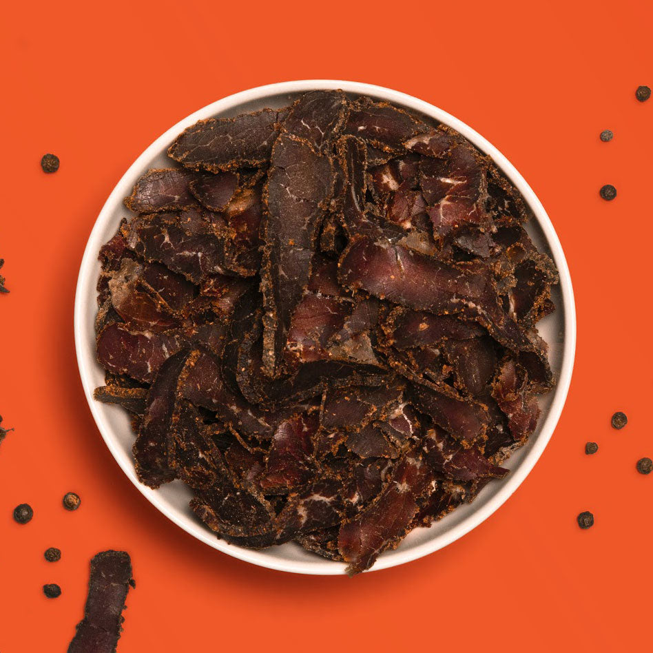 How is biltong made