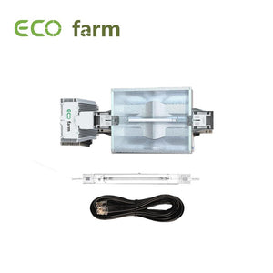 ECO Farm HPS / MH 1000W Kit de culture hydroponique de culture à double extrémité