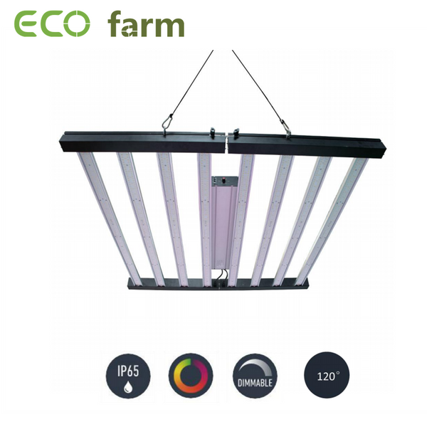 ECO Farm La LED pliable 640W / 720W / 960W élève la lumière avec les puces Samsung 301B + les bandes LED à intensité variable UV + IR à haut rendement Big Discount
