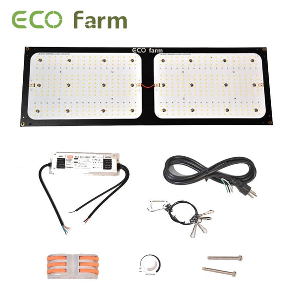 ECO Farm 240W V3 Samsung 301H Chips +UV+IR Lampe de Culture LED Quantum Board