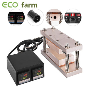 ECO Farm Presse à colophane Plate Kit 3 * 5/3 * 7 pouces Rosin Heat Press Kit de chauffage double vente rapide