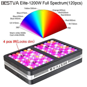 BESTVA 600/1200/2000W LED Lampe de Culture