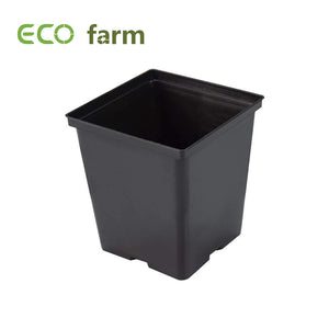 Eco Farm Pot en Plastique Carré 1 Gallon