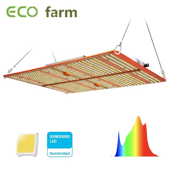 ECO Farm ECOT series 120 W / 240 W / 480 W Carte Quantique dimmable avec puces Samsung 301H + UV-IR