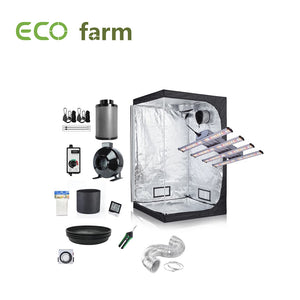 Eco Farm 3x3ft(36x36x80in/90x90x200cm) Kit de Culture Complet DIY