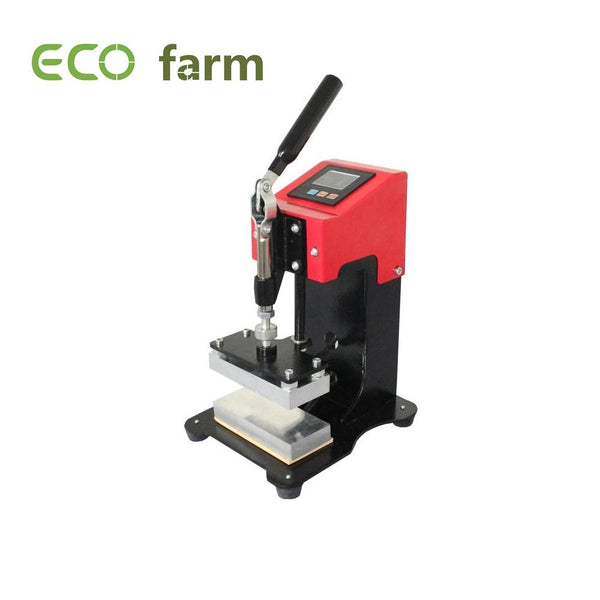 Eco Farm Machine de Presse Manuelle à Double Chaleur 6 * 12 CM Mini Presse