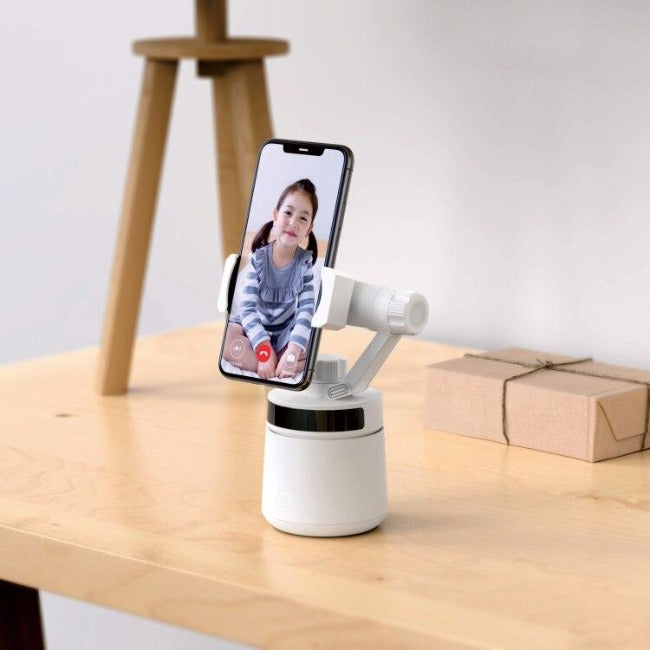 3D LIVE™ Smart 360º Automatic Face Tracking Camera Holder