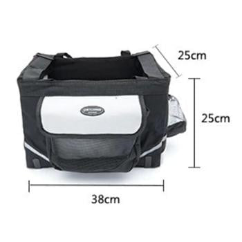 Portable Pet Bicycle Carrier Basket - GearMeeUp