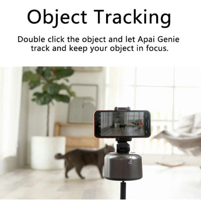 Auto Smart 360° Object Tracking Phone Camera Holder - GearMeeUp