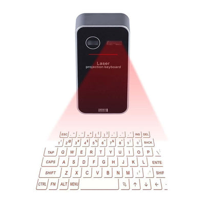 Bluetooth Wireless Virtual Laser Keyboard - GearMeeUp