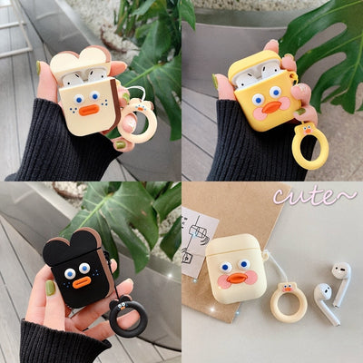 Cute Cartoon Earphone Case for Airpods - GearMeeUp
