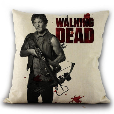 The Walking Dead Pillow Case Without the core - GearMeeUp