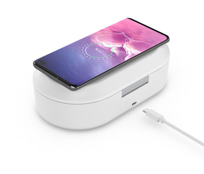 UV Light Phone Sanitizer and Wireless Charger - GearMeeUp