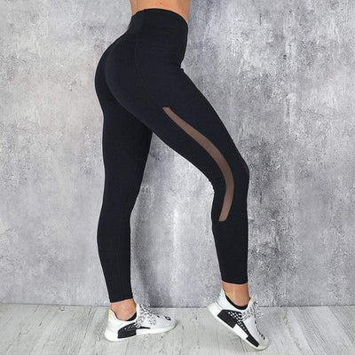 Push up High-Waisted Pocket Workout Leggings - GearMeeUp