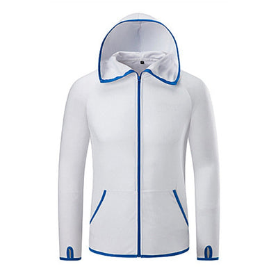 Ice Silk Waterproof Hooded Jackets - GearMeeUp
