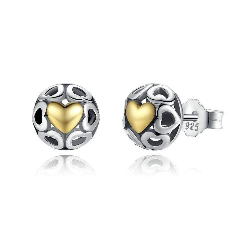 Unique Open Heart™ Stud Earrings - GearMeeUp