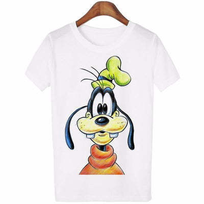 New Summer Women Lovely Cartoon O-Neck Casual Short Sleeve T-Shirt - GearMeeUp