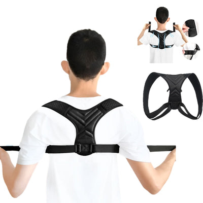 Adjustable Back Shoulder Posture Corrector - GearMeeUp