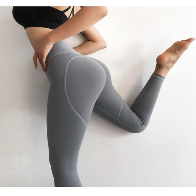 Heart Shape Sports Leggings - GearMeeUp