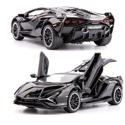 Lamborghini Sian Die cast Car Model - GearMeeUp