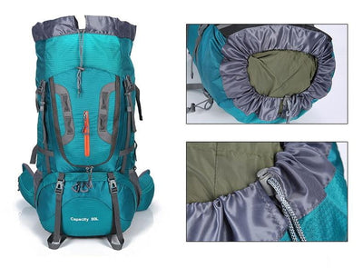 80L Camping Hiking Backpack - GearMeeUp