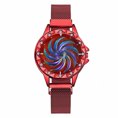 Unique Magnet Buckle Rotating Watch - GearMeeUp