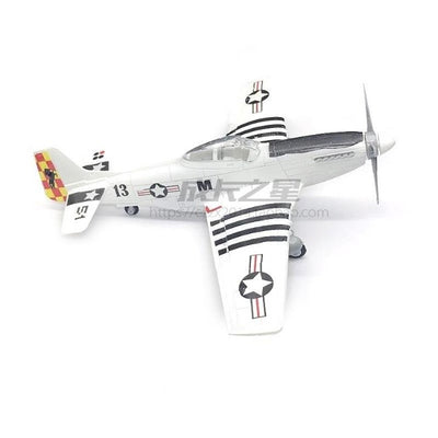 Mustang P-51 Fighter WWII Airplane Model - GearMeeUp