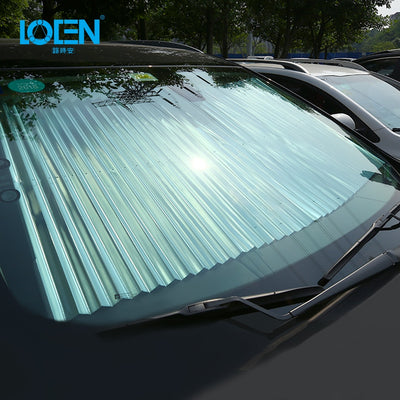 Retractable Windshield Sunshade UV Protection - GearMeeUp