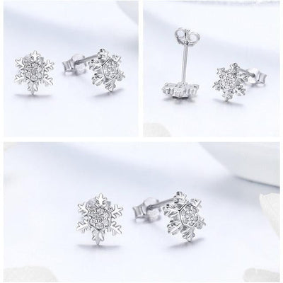 Snowflake™ Stud Earrings - GearMeeUp