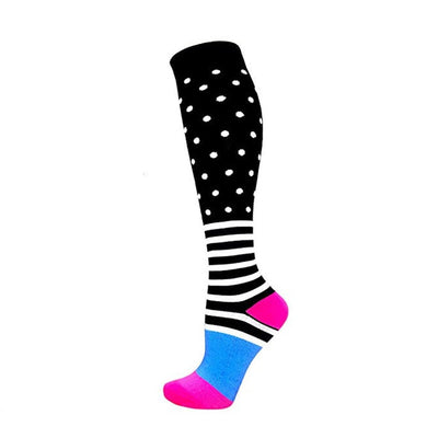 Funny Pattern Compression Socks - GearMeeUp