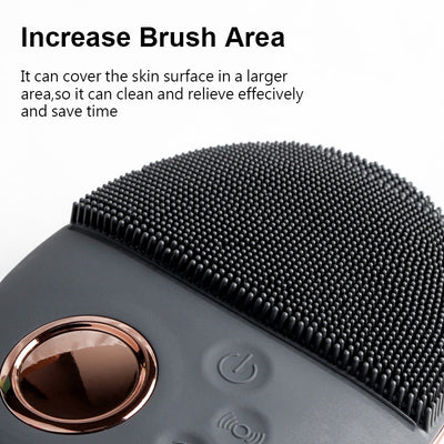 Ultrasonic Cleansing Brush Face Massager - GearMeeUp