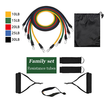 Premium Resistance Band Fitness Set - GearMeeUp