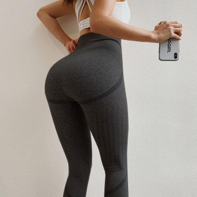 High-Waisted Vital Seamless Leggings - GearMeeUp