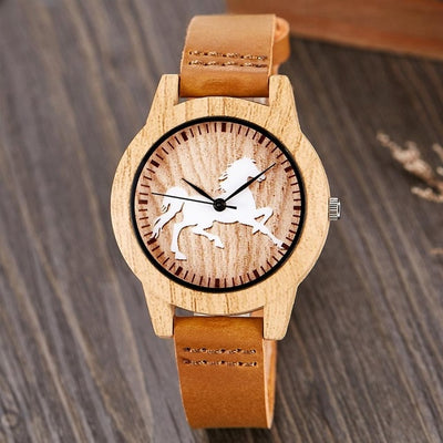Creative Design Wood Watch - GearMeeUp