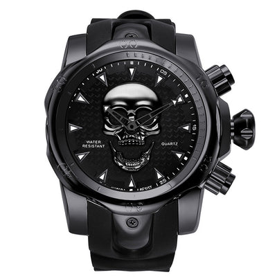 Skull Fashion Men's Wristwatch - GearMeeUp