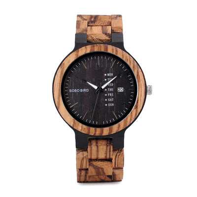 Handmade Mens Wood Watch - GearMeeUp