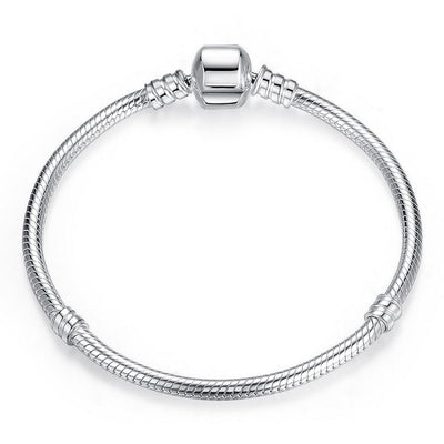 "Authentic Sterling Silver "" Snake Chain Bracelet™ "" - GearMeeUp"