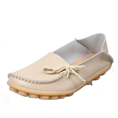 Spring Leather Loafers for Women - GearMeeUp