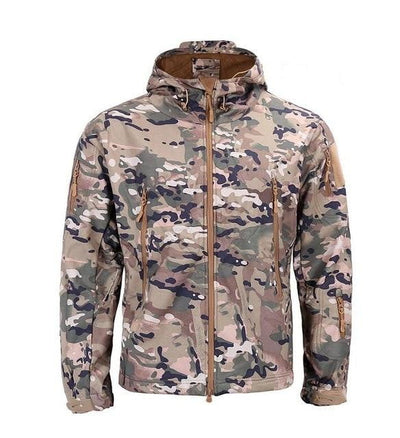 Soft Shell Military Tactical Jacket - GearMeeUp